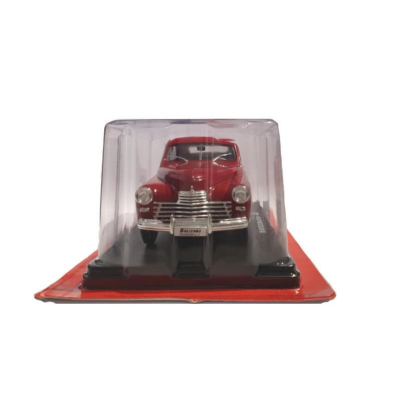 Macheta auto Warszaawa M20 1951 Nr 8 - Automobile de neuitat, 1:24 Hachette