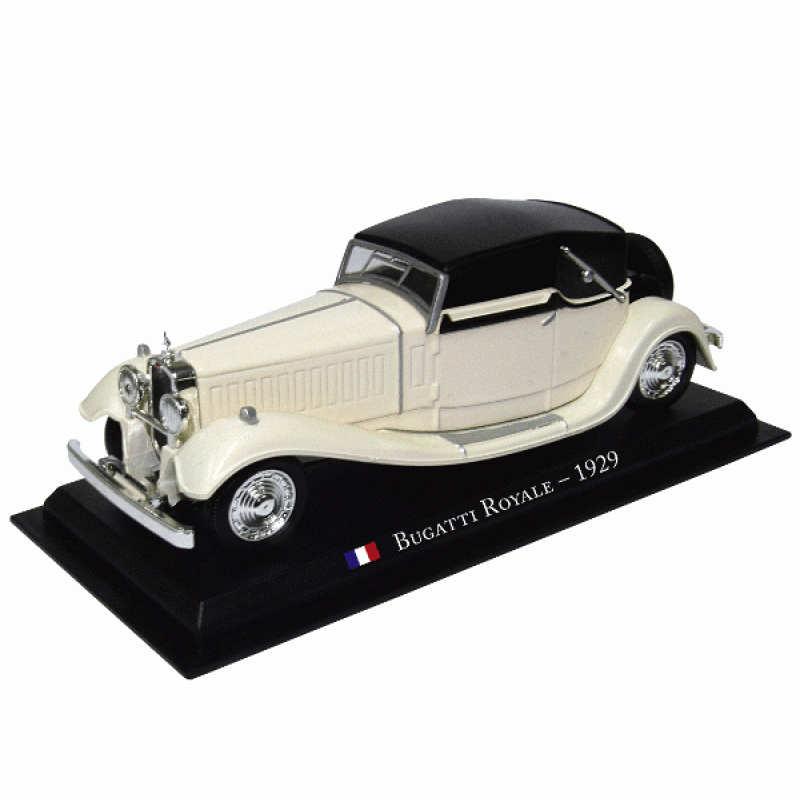 Masini De Legenda Nr.30 - Macheta auto Bugatti Royale 1929, 1:43 Amercom