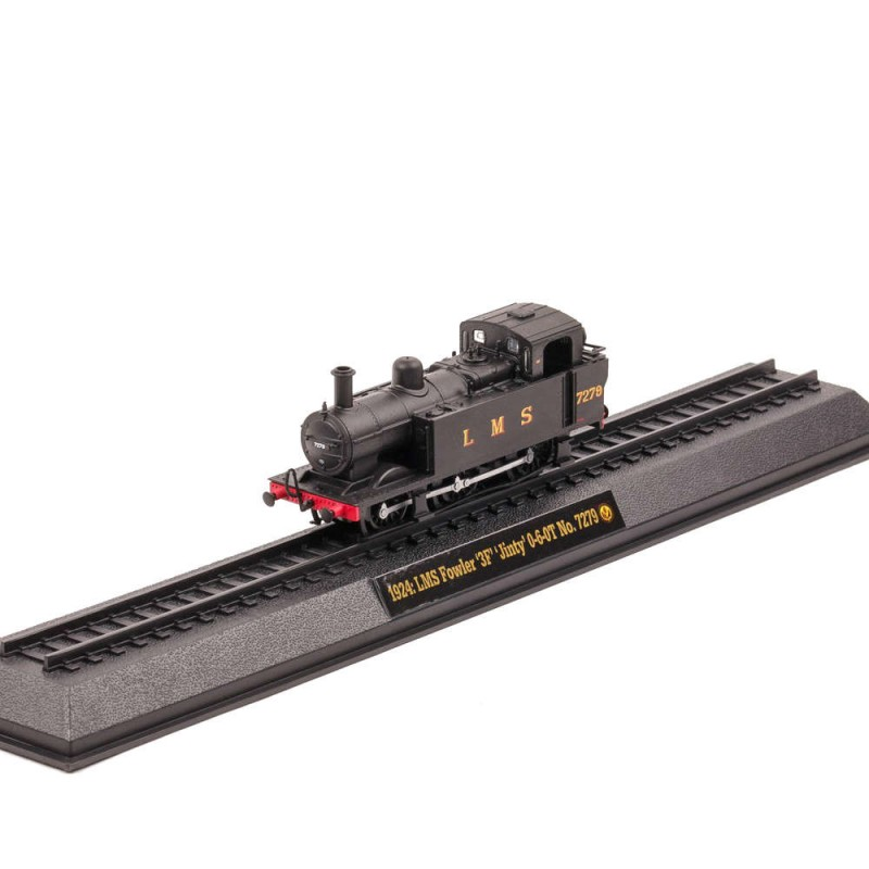 Locomotive Celebre Nr.25 - Fowler 3F Jinty , 1:76 Amercom