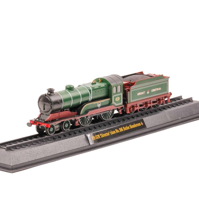 Locomotive Celebre Nr.26 - Butler Henderson si Clasa director , 1:76 Amercom