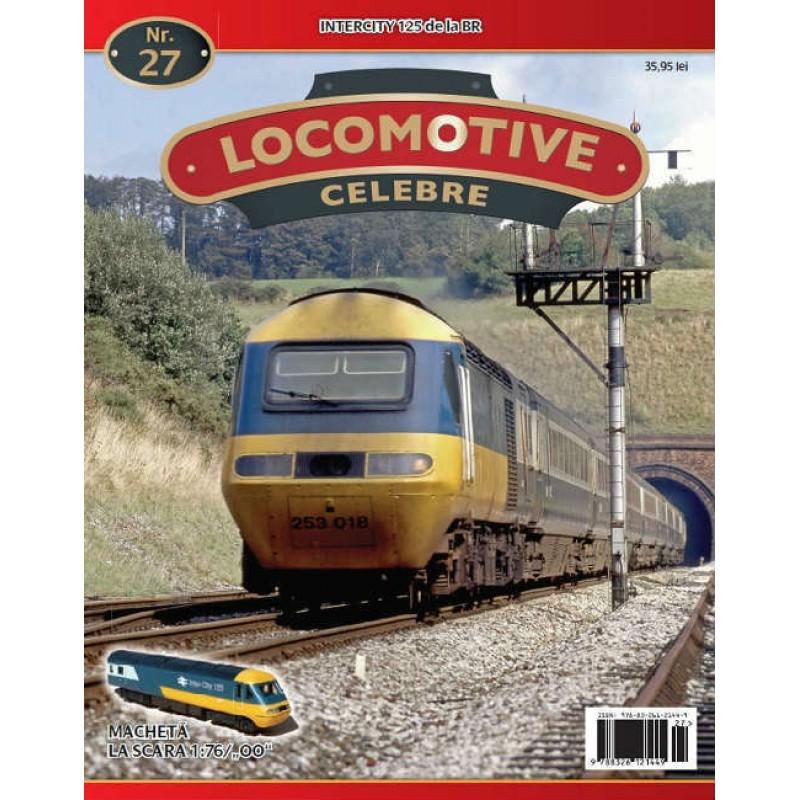 Locomotive Celebre Nr.27 - Intercity 125 de la BR , 1:76 Amercom
