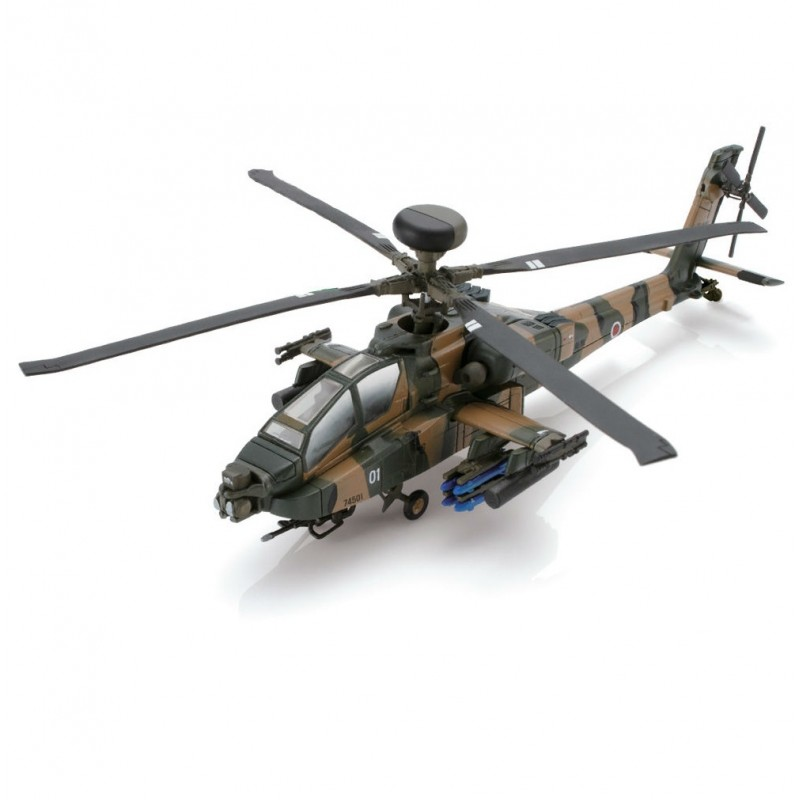 Colectie machete militare Armata Japoneza, Elicopter Apache Longbow AH-64D #03, 1:100 Deagostini