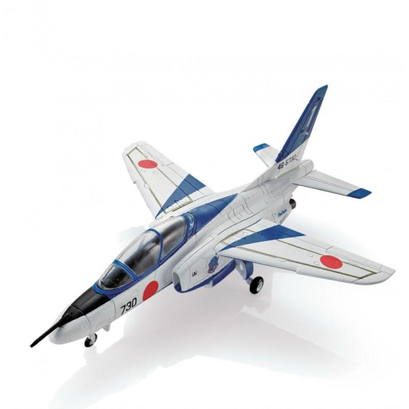 Colectie machete militare Armata Japoneza, Avion Kawasaki T-4 Blue Impulse #04, 1:72 Deagostini