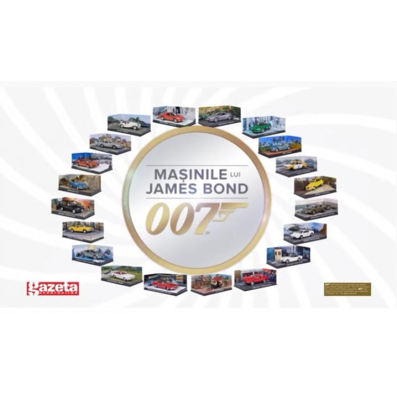 Abonament Machete auto Colectia James Bond Nr prezent - nr.20- 1:43 Eaglemoss