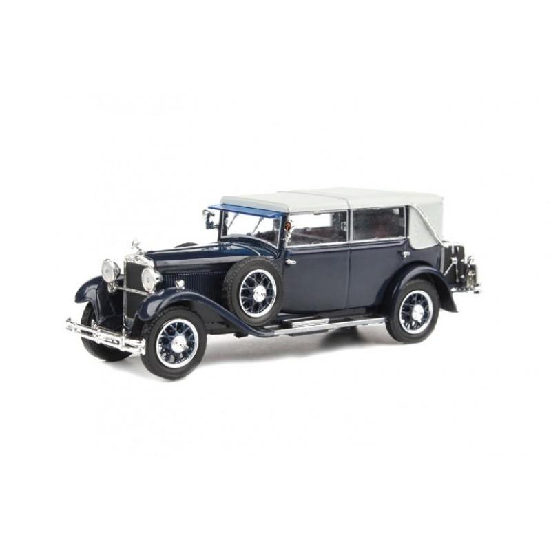 Macheta auto Skoda 860 1932 albastru, 1:43 Abrex - DEFECTA