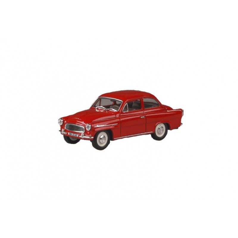 Macheta auto Skoda Octavia 1963 rosu, 1:43 Abrex