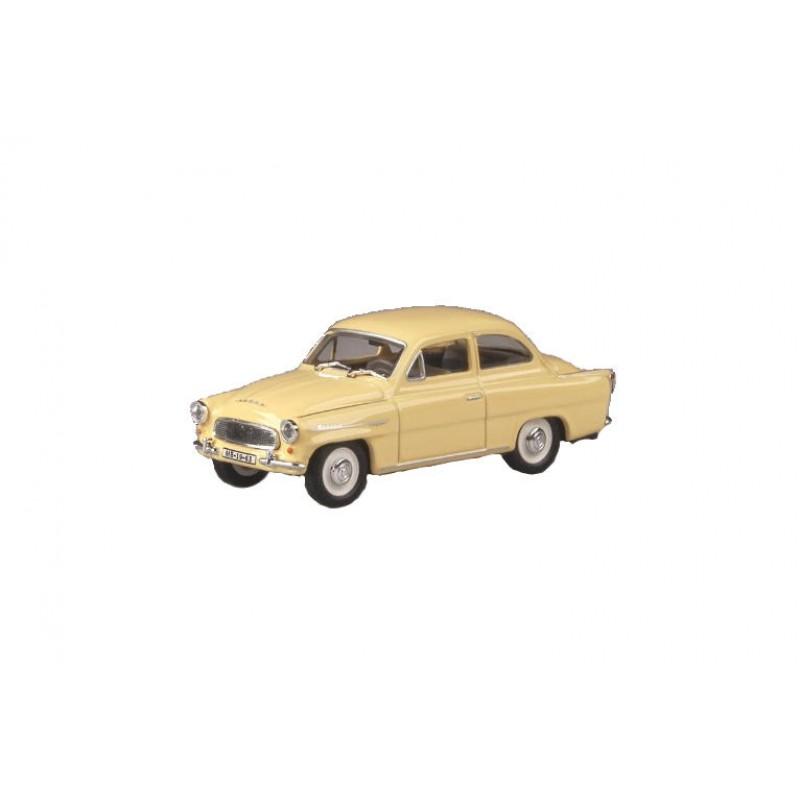 Macheta auto Skoda Octavia 1963 crem, 1:43 Abrex