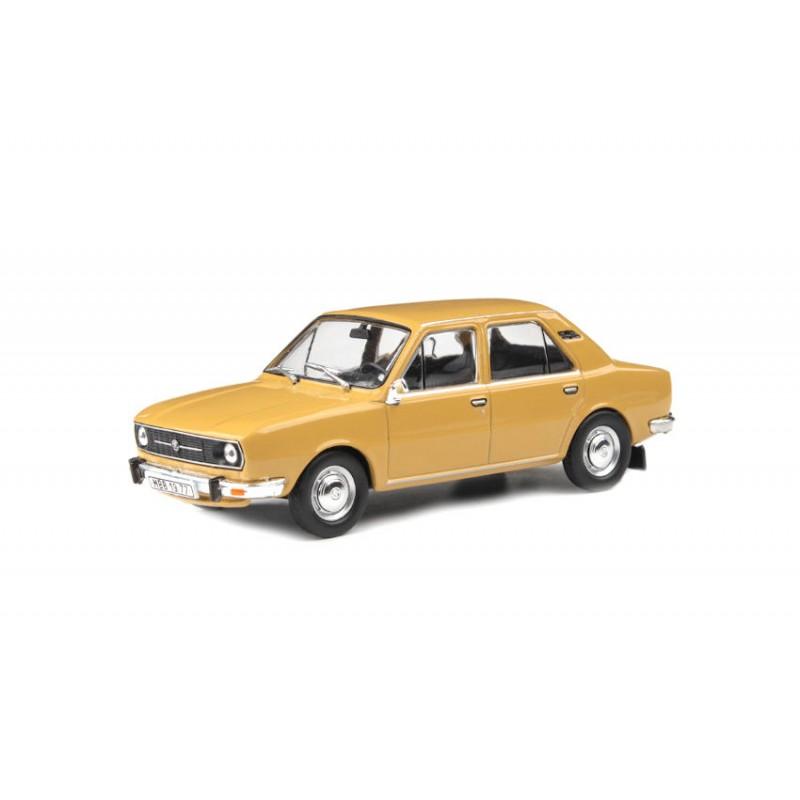 Macheta auto Skoda 105L 1977 maro, 1:43 Abrex