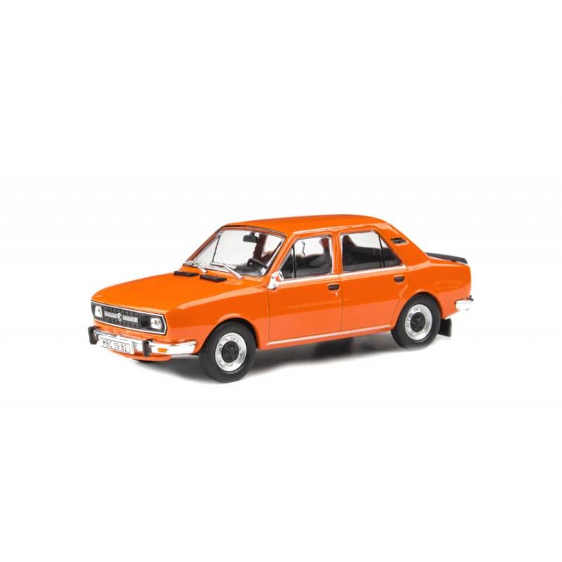 Macheta auto Skoda 120L 1982 portocaliu, 1:43 Abrex