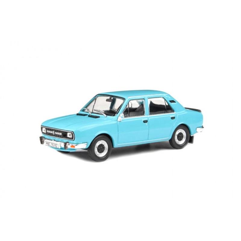 Macheta auto Skoda 120L 1982 albastru, 1:43 Abrex