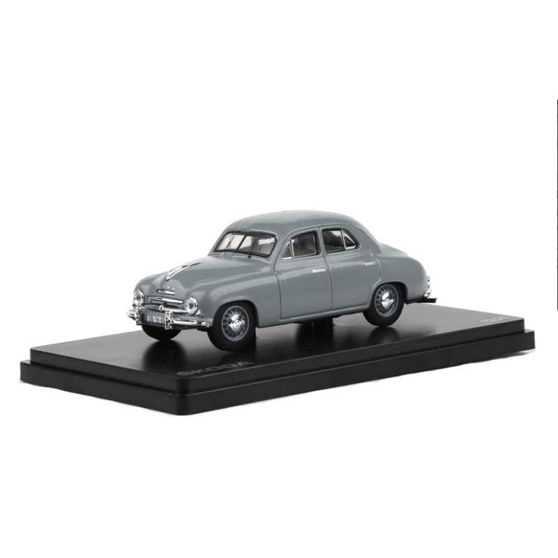 Macheta auto Skoda 1201 1956 gri, 1:43 Abrex
