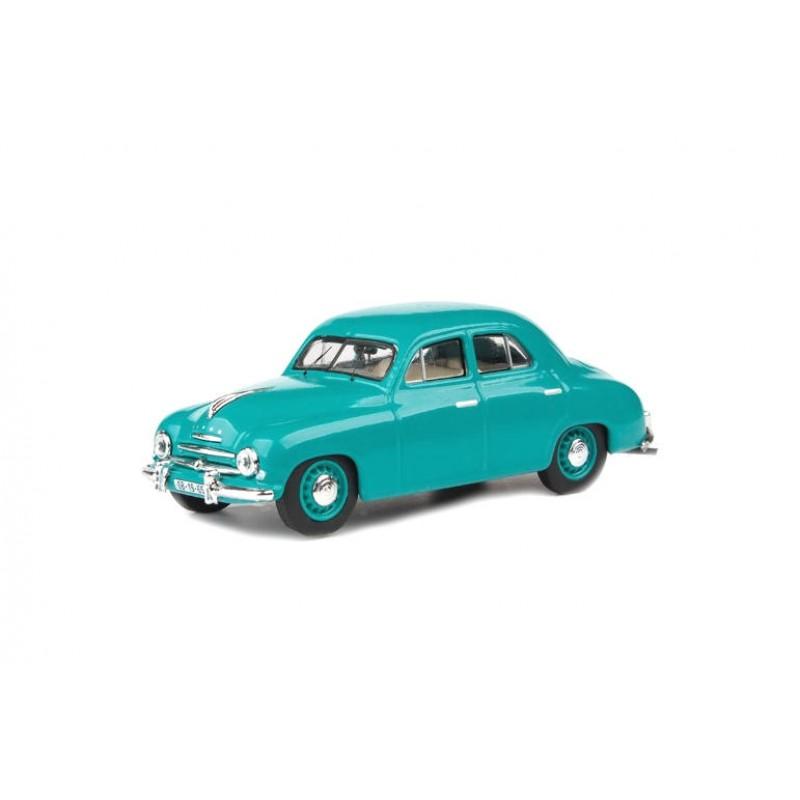 Macheta auto Skoda 1201 1956 verde turcoaz, 1:43 Abrex