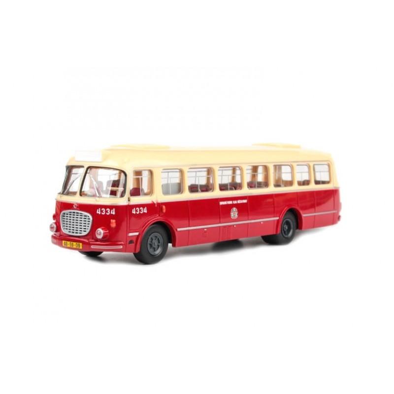Macheta autobuz Skoda 706 RTO MHD Praga 1957, 1:43 Abrex