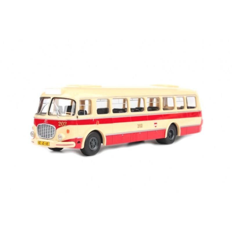 Macheta autobuz Skoda 706 RTO MHD Brno, 1:43 Abrex