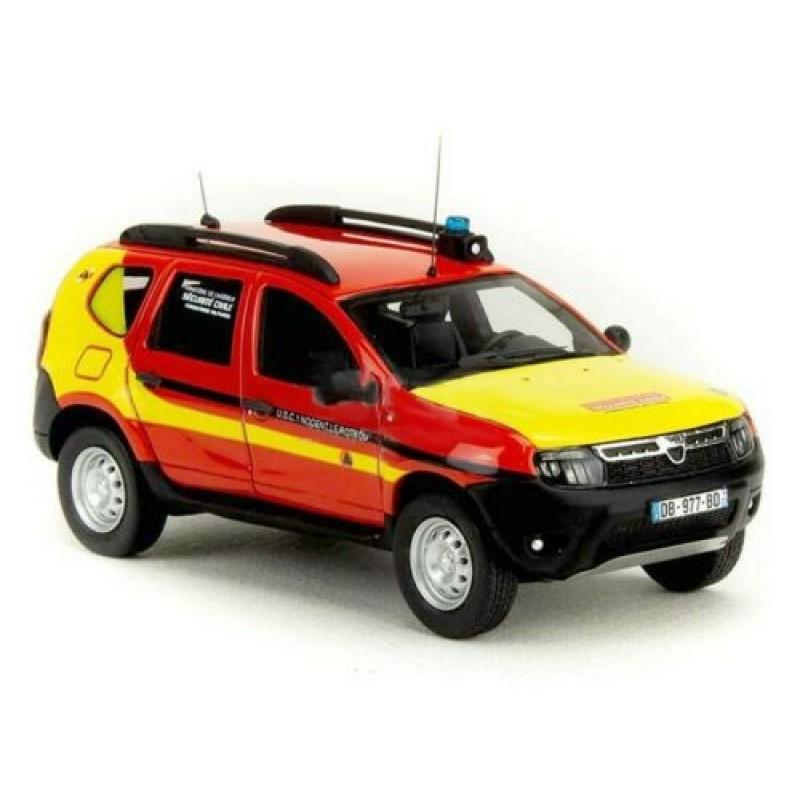 Macheta auto Dacia Duster Securite civile 28 LE 350 pcs, 1:43 Alarme