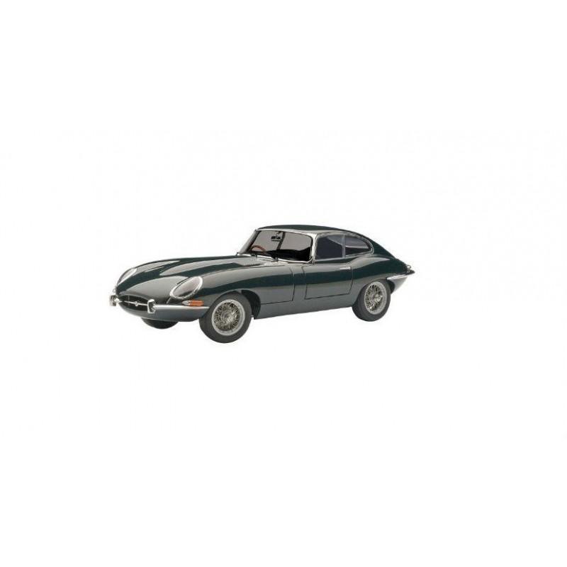 Macheta auto Jaguar E-Type Coupe Series I 3.8 (1961)  verde, 1:18 Autoart