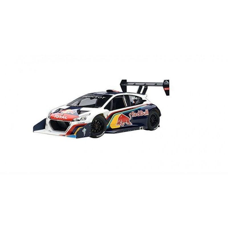 Macheta auto Peugeot 208 T16 Pikes Peak (2013) 1:18 Red Bull, 1:18 Autoart