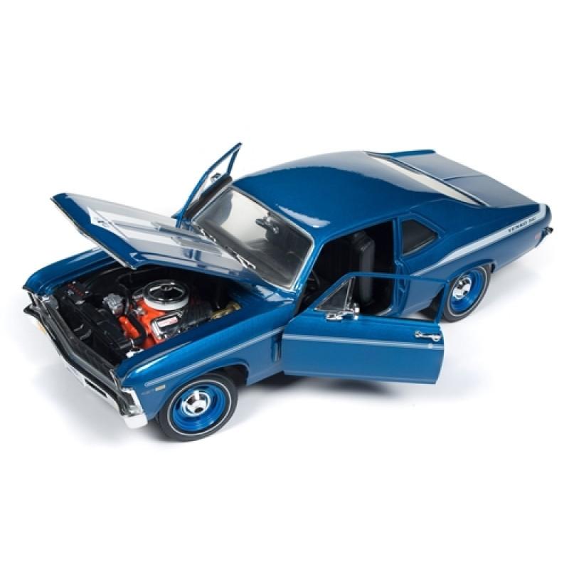 Macheta auto Chevrolet Nova Yenko Coupe 1969, 1:18 Autoworld