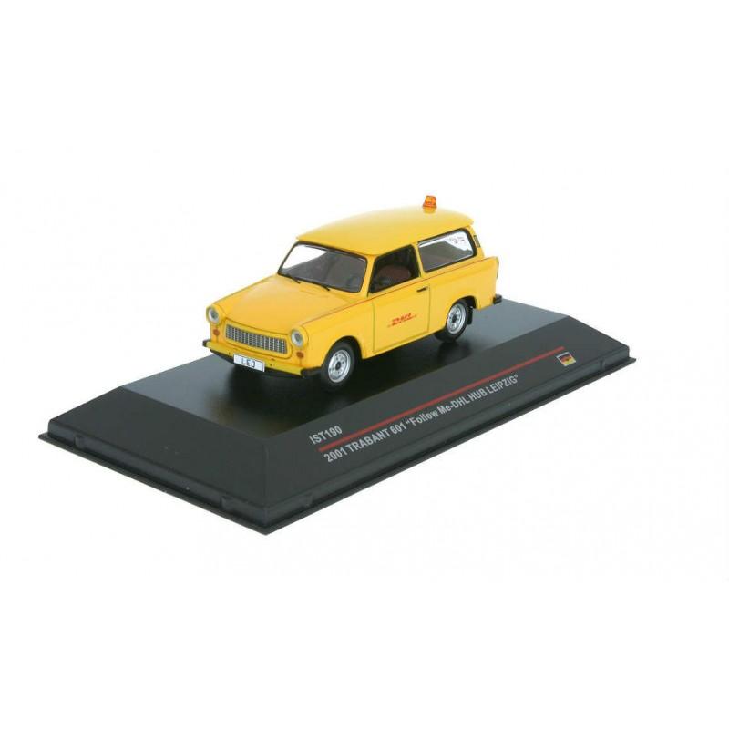 Macheta auto Trabant 601 DHL 2001, 1:43 IST Models
