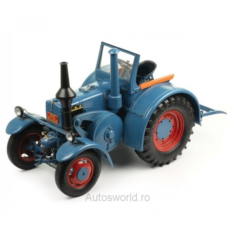 Macheta tractor Lanz Bulldog D8506 albastru 1937, 1:8 Premium X