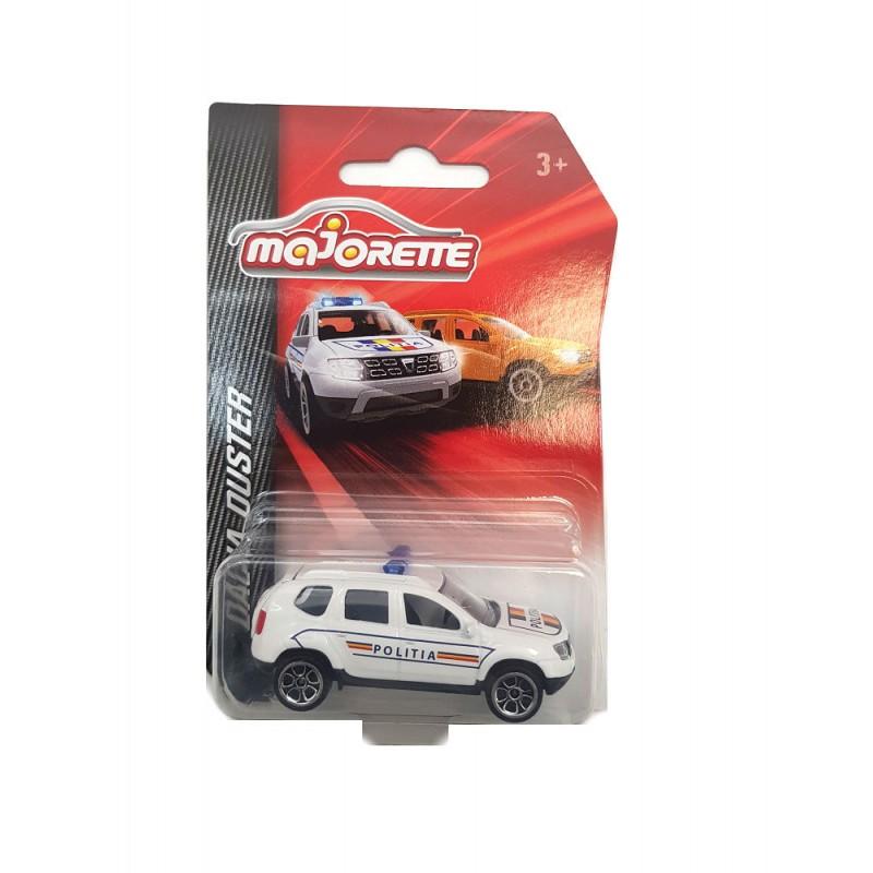 Macheta auto Dacia Duster Politia Romana 2015 , 1:64 Majorette