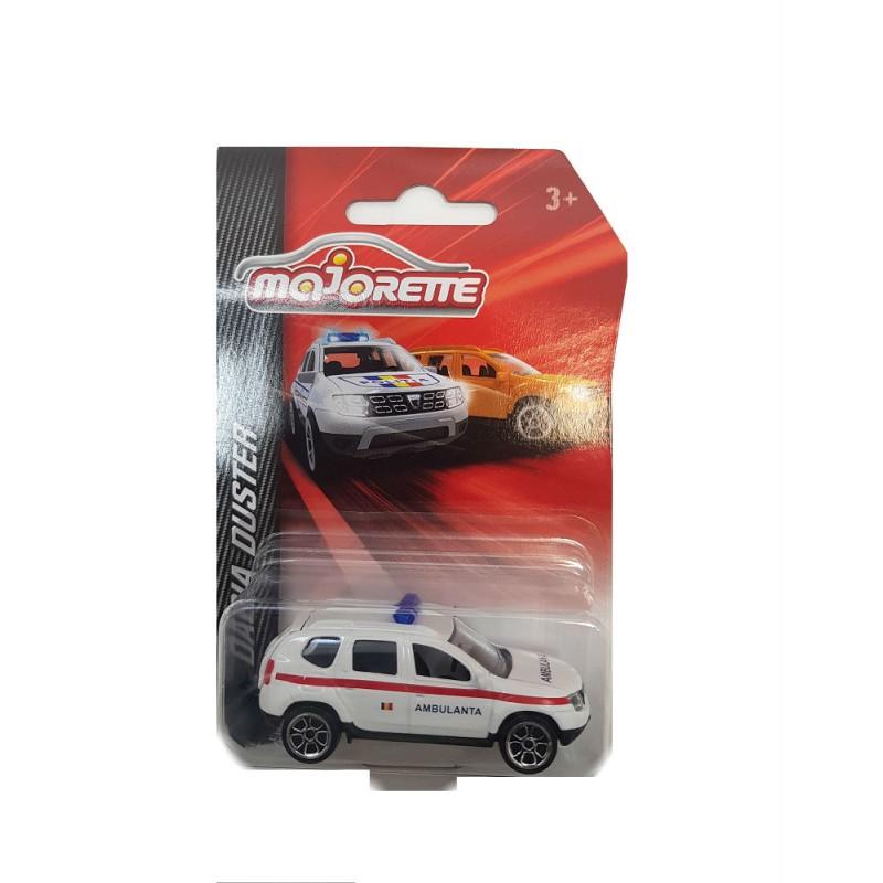 Macheta auto Dacia Duster Ambulanta 2015 , 1:64 Majorette