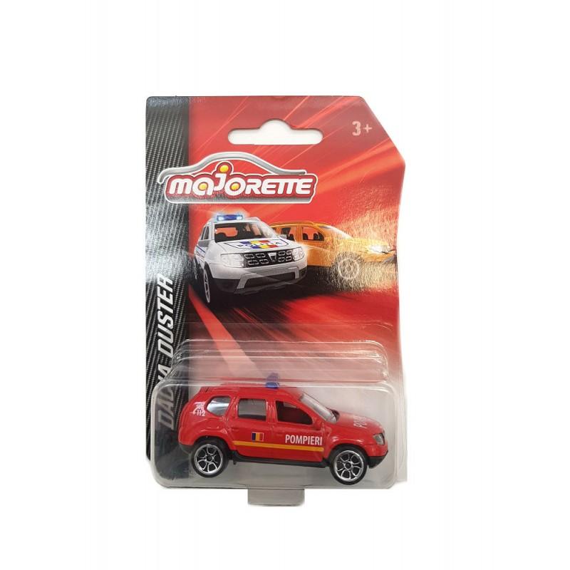 Macheta auto Dacia Duster Pompieri 2015 , 1:64 Majorette