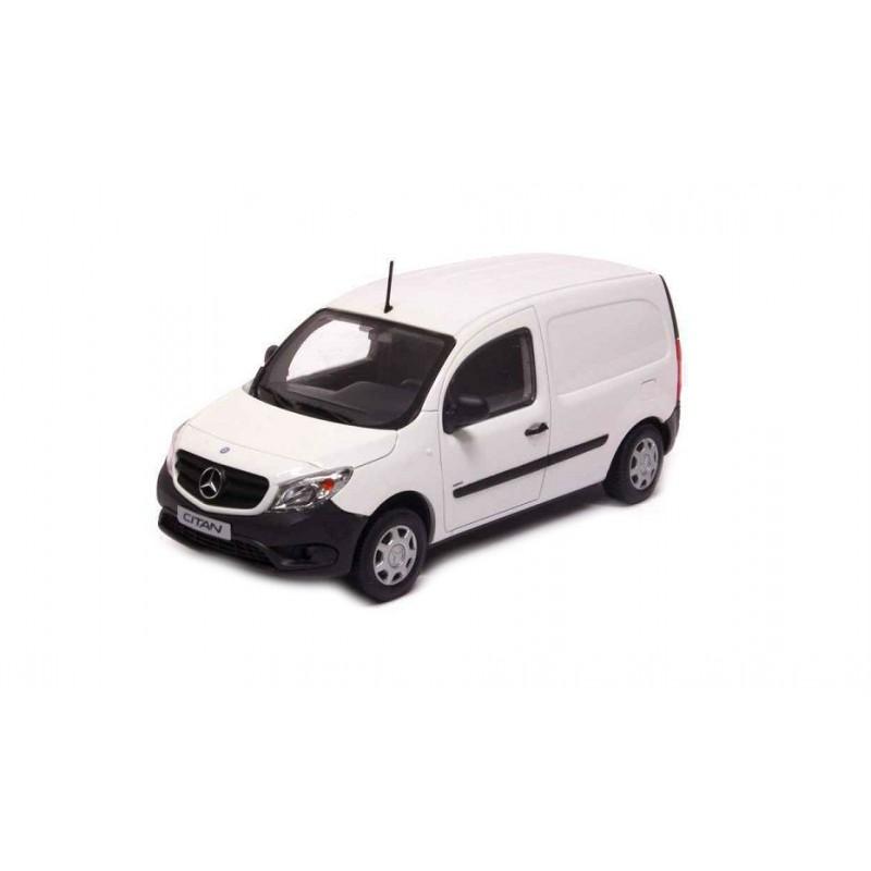 Macheta auto Mercedes Benz Citan duba alb 2014, 1:43 Minichamps