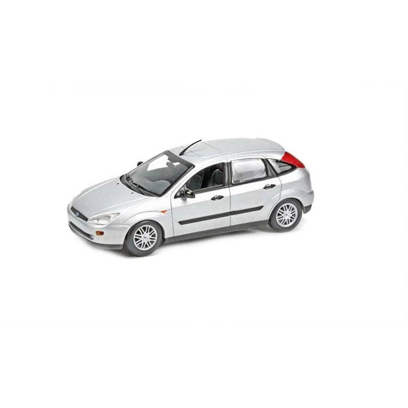 Macheta auto Ford Focus 5usi 2001 gri, 1:43 Minichamps
