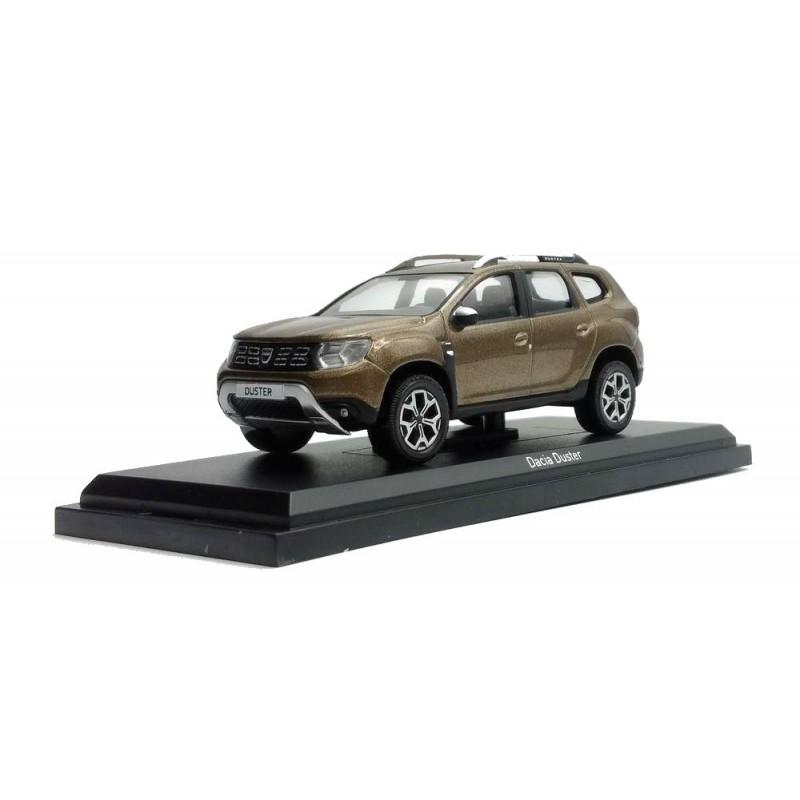 Macheta auto Dacia Duster 2018 Lot x4 buc negru,maro,crem,gri, 1:43 Norev