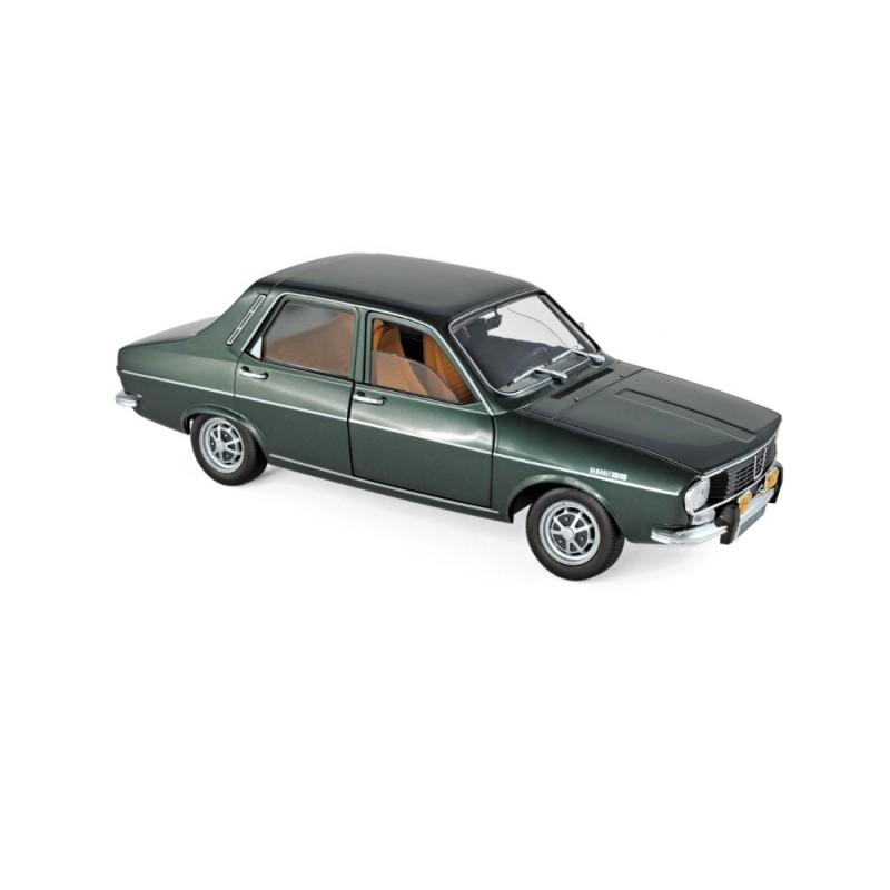 Macheta auto Renault 12 TS 1973 verde metalizat, editie limitata 100 buc, 1:18 Norev