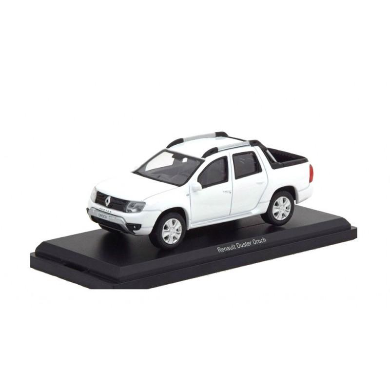 Macheta auto Dacia / Renault Duster Oroch 2016 alb, 1:43 Norev