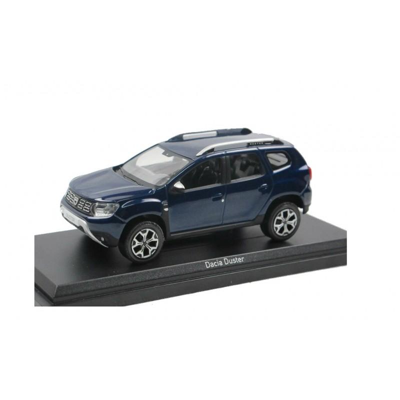 Macheta auto Dacia Duster 2018 cosmos albastru, 1:43 Norev
