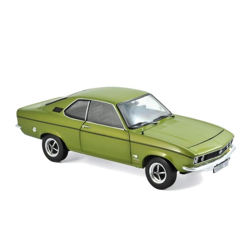 Macheta auto Opel Manta 1975 verde, 1:18 Norev