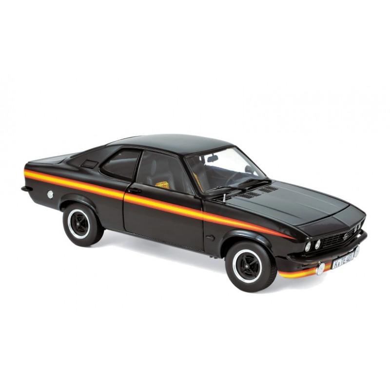 Macheta auto Opel Manta GTE Black Magic 1975 negru, 1:18 Norev