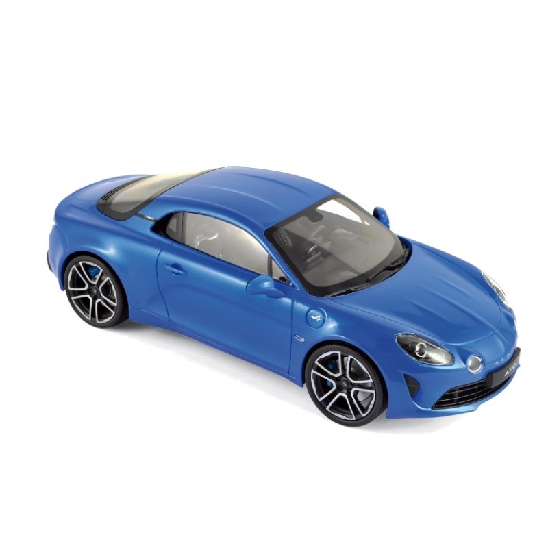 Macheta auto Renault Alpine A110 Premiere Edition 2017 albastru, 1:18 Norev
