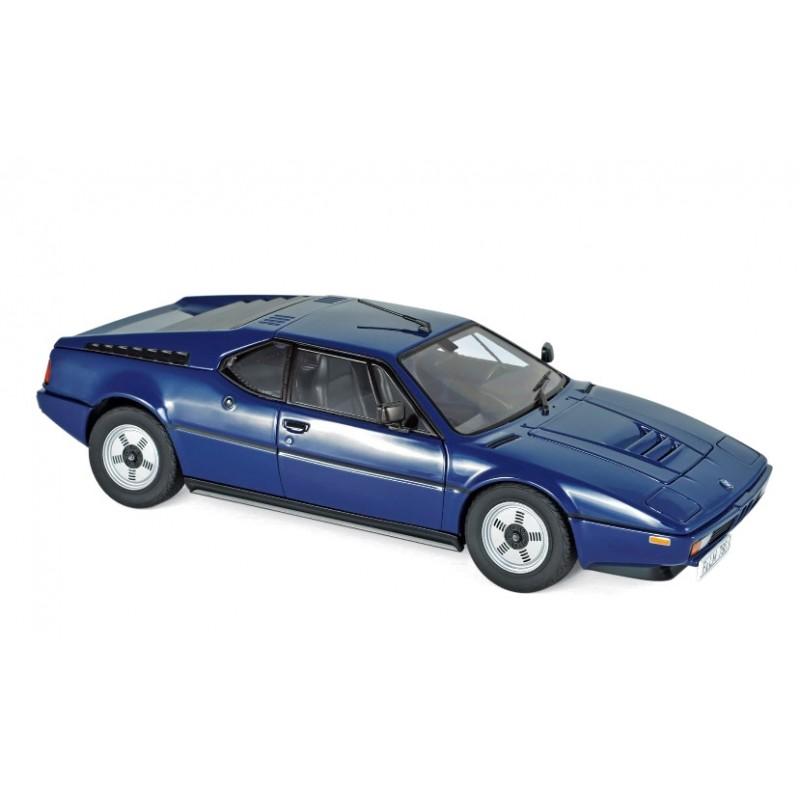 Macheta auto BMW M1 1980 albastru, 1:18 Norev