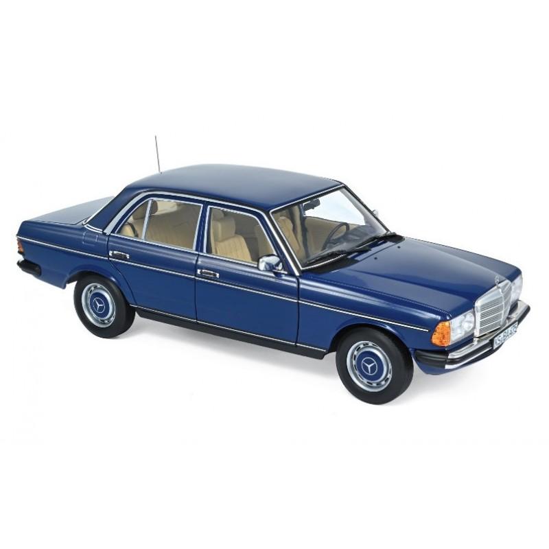 Macheta auto MERCEDES-Benz 230 W123 Cobra albastru (1982), 1:18 Norev