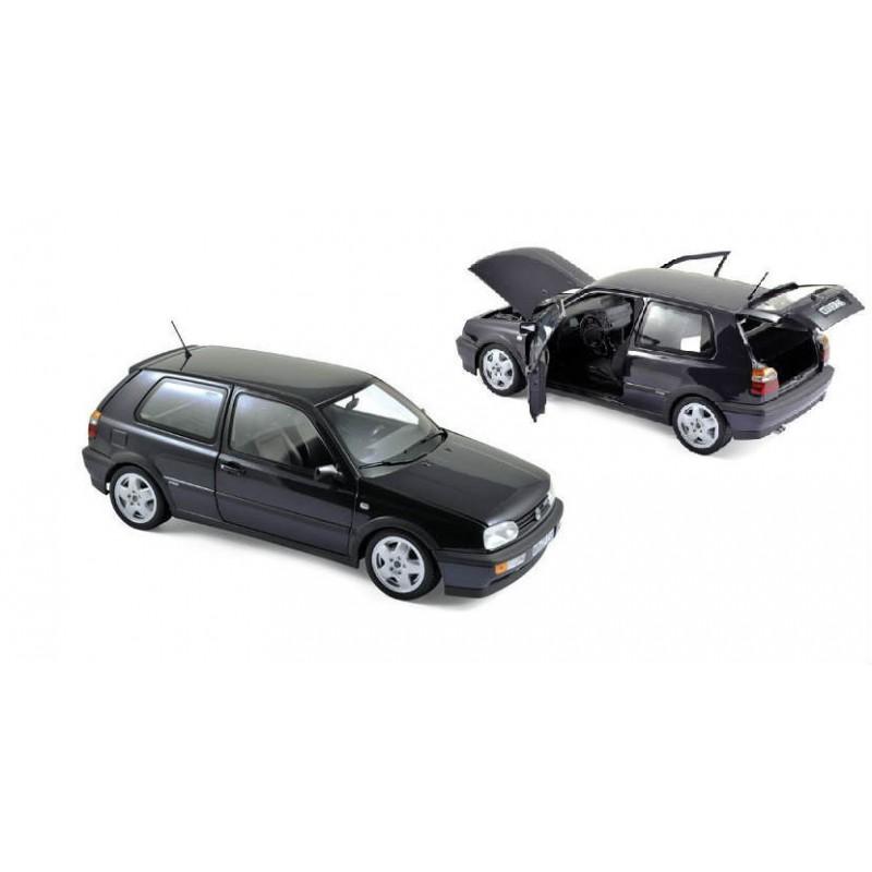 Macheta auto VOLKSWAGEN GOLF 3 VR6 (1996) 1:18 violet inchis Norev