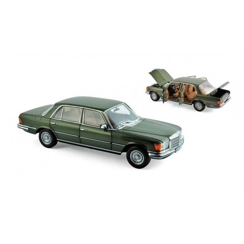 Macheta auto Mercedes Benz 450 SEL 6.9 1976 verde, 1:18 Norev