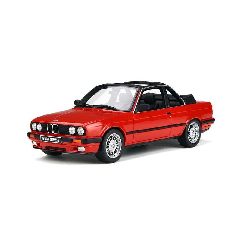 Macheta auto BMW E30 325i TC2 BAUR convertible, 1:18 Otto Models