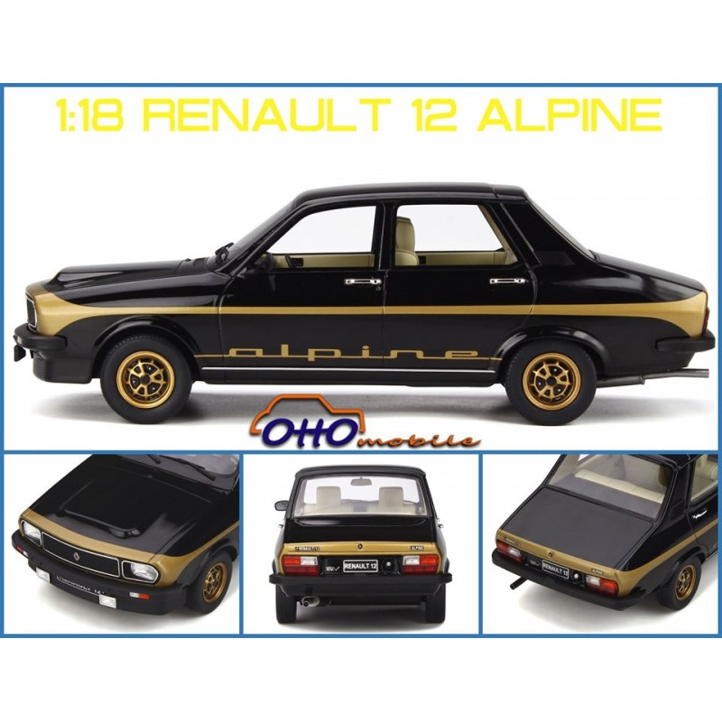 Macheta auto Renault 12 Alpine 1978, 1:18 Otto Models