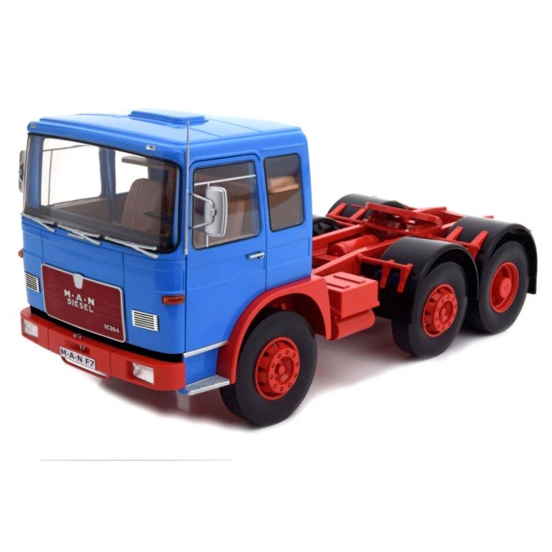 Macheta Camion MAN F7 16.304 albastru 1968, 1:18 Road Kings