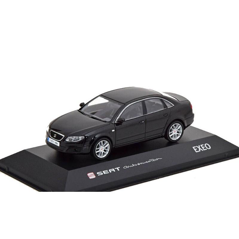 Macheta auto Seat Exeo negru 2008, 1:43 Fischer – dealer model