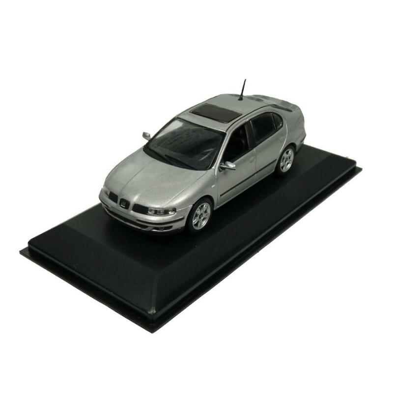 Macheta auto Seat Toledo II gri 1998-2004, 1:43 Minichamps – dealer model
