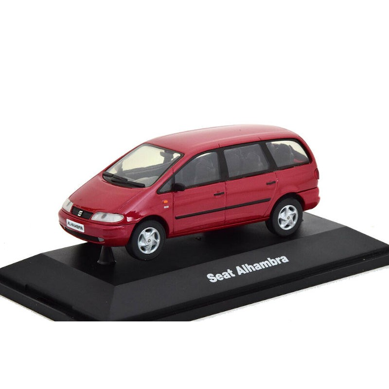 Macheta auto Seat Alhambra I visiniu 1996-2010, 1:43 Herpa – dealer model