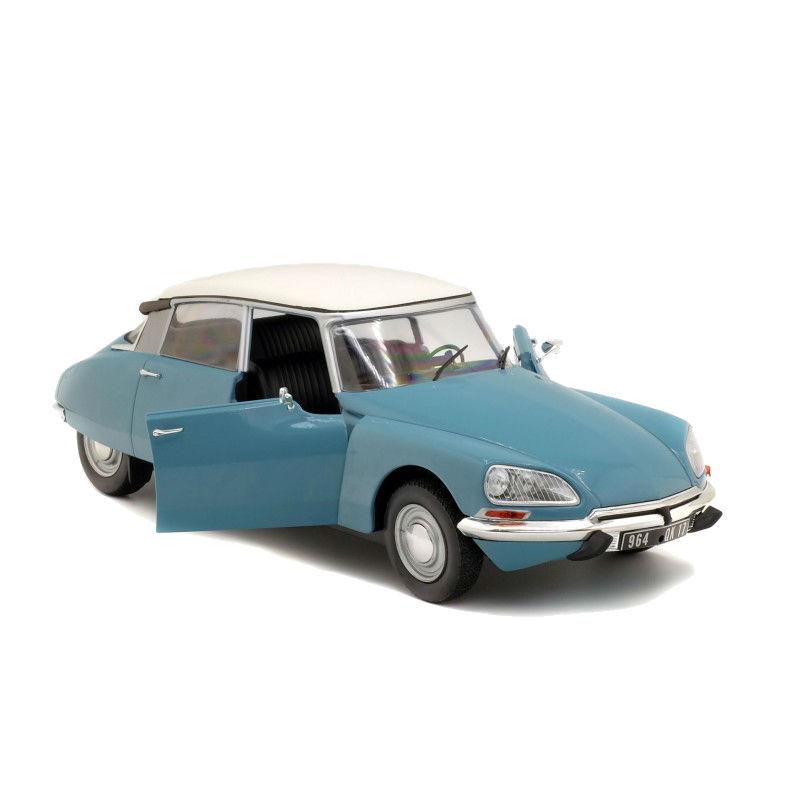 Macheta auto Citroen D SPECIAL albastru 1972, 1:18 Solido