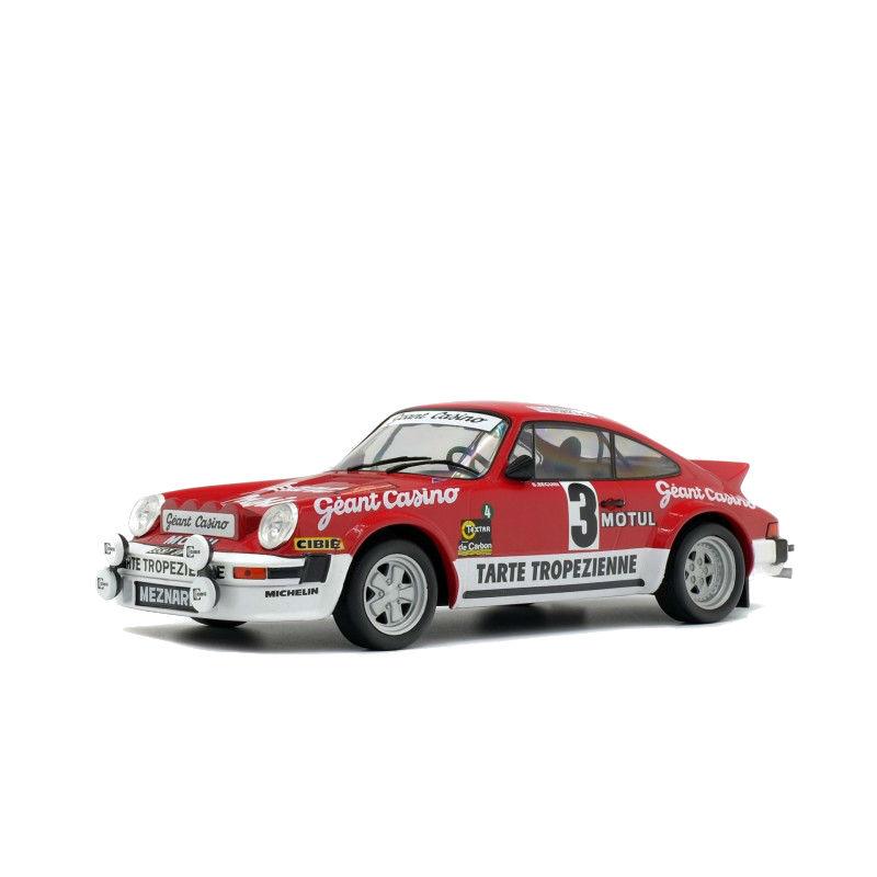 Macheta auto Porsche 911 SC GR4 Rally d'Armor 1979 LE 2000pcs, 1:18 Solido