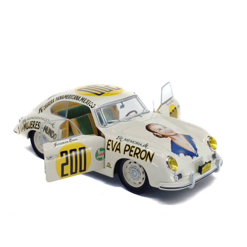 Macheta auto Porsche 356 PRE-A Panamerica #200 1953, 1:18 Solido