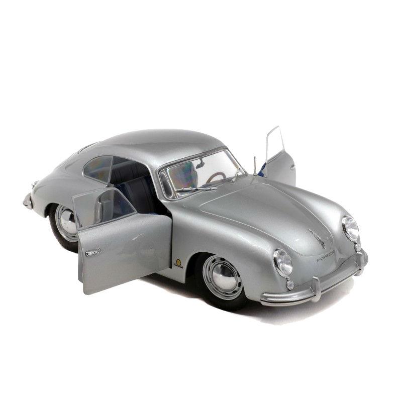 Macheta auto Porsche 356 PRE-A gri 1953, 1:18 Solido